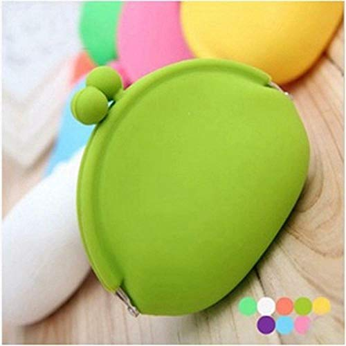Purses Wallet Card Case Case Pouch Silicone Coin Bag | color - Green (Thirty One Coin Purse Wallet)