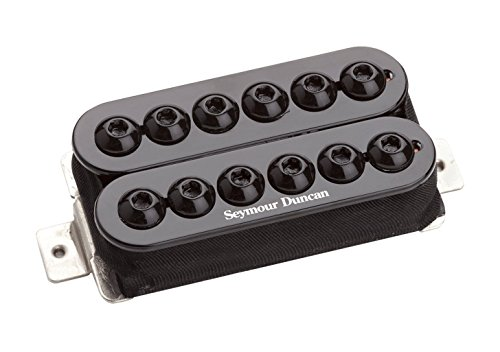 Seymour Duncan SH-8b Invader Humbucker Pickup Black 11102-31-B w/Bonus RIS Picks (x3) 800315001309
