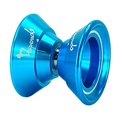 Magic YoYo N5 Desperado Alloy Aluminum Professional Blue Yo-Yo Toys yoyo Toy: Toys & Games