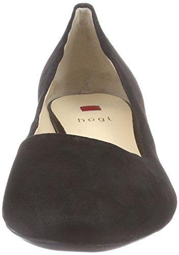 Högl 0-12 3002, Chaussures à Talons - Avant du Pieds Couvert Femme Noir - Schwarz (0100)