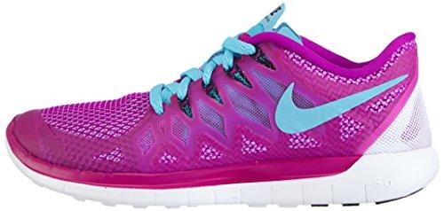 Nike Free 5.0, Scarpe da corsa donna, Rosa (fuchsia flash/clear water/fuchsia glow), 40.5