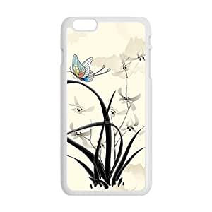 Classic Style ink painting Phone Case for iPhone 6 Plus 5.5""