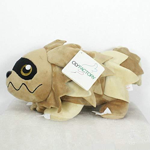 LYH2019 Anime Games Pikachu Series New 30Cm Zigzagoon Plush Toy Stuffed Toys A Birthday Present For Children.