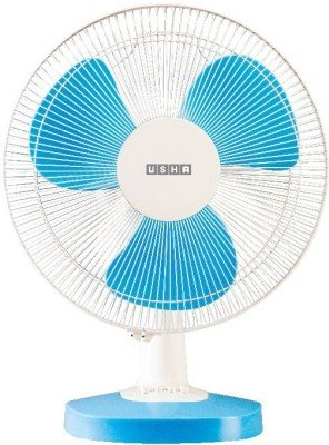 Enjoyable Usha Mist Air Duos Table Fan Blue Home Interior And Landscaping Pimpapssignezvosmurscom