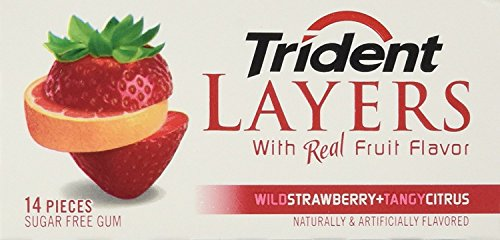TRIDENT LAYERS STRAWBERRY & CITRUS 12 COUNT by TRIDENT LAYERS STRAWBERRY & CITRUS 12 COUNT