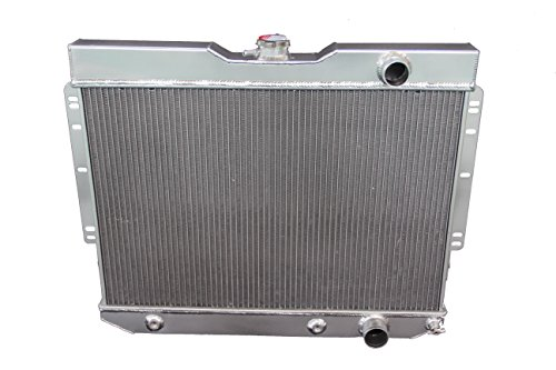 ZC281 New 3 Rows Aluminum Radiator For 1959-1963 Impala// 1960-1965 Belair (1963 Impala Radiator)