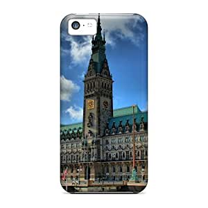 MMZ DIY PHONE CASEPerfect Hamburg City Hall Hdr Case Cover Skin For ipod touch 5 Phone Case