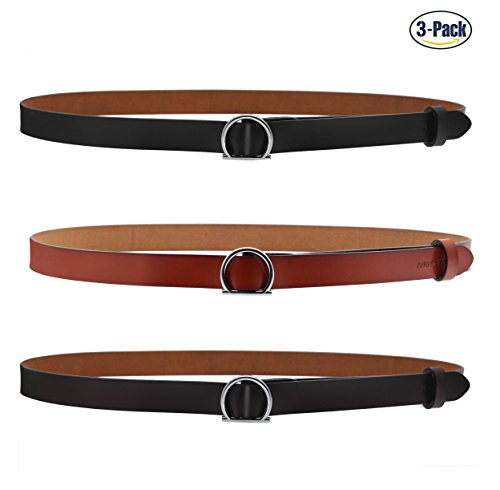 orange dress brown belt - 4