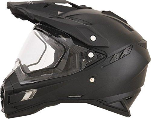 - AFX FX-41DS Solid Mens Snow Helmets - Flat Black - Large