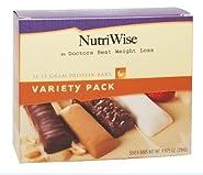NutriWise - Variety Pack Diet Protein Bars (7 bars)