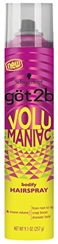 Got 2B Volumaniac Hairspray 9.1 Ounce 269ml 6 Pack