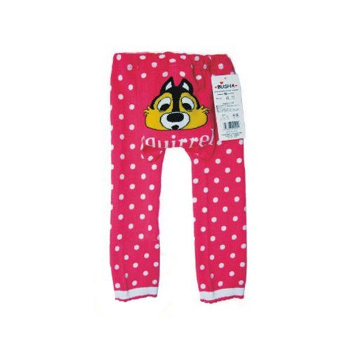Wrapables Toddler Leggings Squirrel Polka