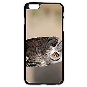 AOPO Phone Cover For IPhone 6 Plus,OWL Make Custom IPhone 6 Plus Cover