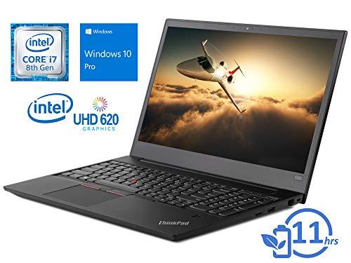 "Lenovo ThinkPad E590 Laptop, 15.6"" HD+ Display, Intel Core i7-8565U Upto 4.6GHz, 16GB RAM, 512GB NVMe SSD + 1TB HDD, HDMI, Card Reader, Wi-Fi, Bluetooth, Windows 10 Pro"