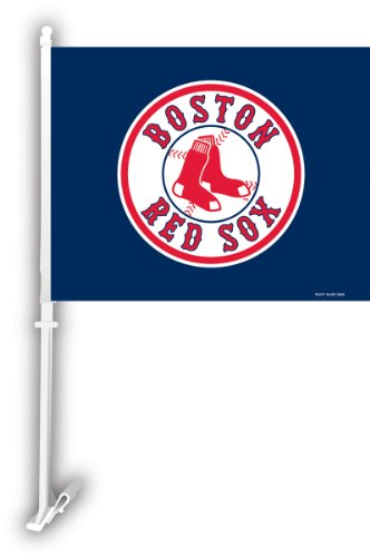 Sided Car Flag (MLB Boston Red Sox 2-Sided Car Flag)