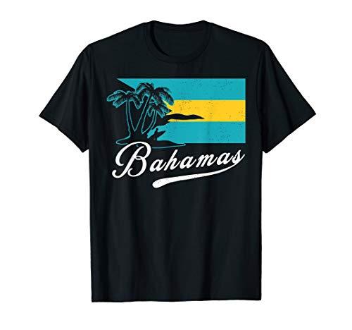 Proud Bahamas Bahamians Flag Gift Design Idea Nassau T-Shirt