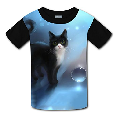 100% Cotton New Sports Tee Shirt 3D Personalized With Cat For Unisex Children - Shopping Centers In Oklahoma City
