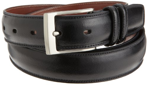 (Perry Ellis Men's Big-Tall HC Milled Belt, Black,)
