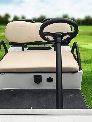 MOSNAI Golf Cart Steering Wheel or Adapter Fit Golf Cart Club Car EZGO Yamaha Universal Steering Wheel or Adapter for Club Car DS and Precedent