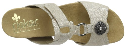 Rieker  60569 Damen Clogs & Pantoletten Beige (perle 60)