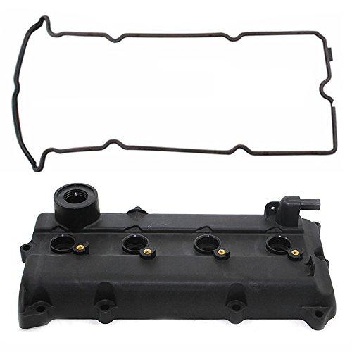 Front Valve Plug (Engine Valve Cover Gasket PCV Valve Seals for 02-06 Nissan Altima Sentra 2.5L QR25DE)