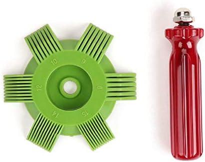 sahnah Universal Plastic Car A//C Radiator Condenser Evaporator Fin Straightener Coil Comb for Auto Cooling System Tool