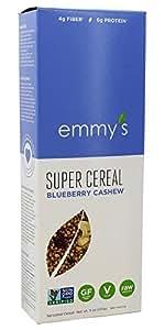 Emmy's Organics Super Cereal Blueberry Cashew -- 11 oz