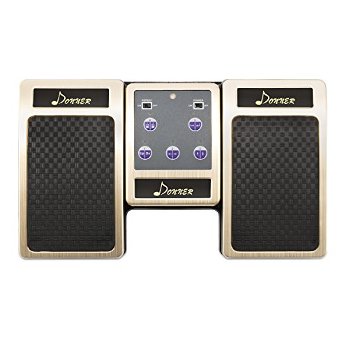 - Donner Wireless Page Turner Pedal for Tablets Ipad Rechargeable,Golden