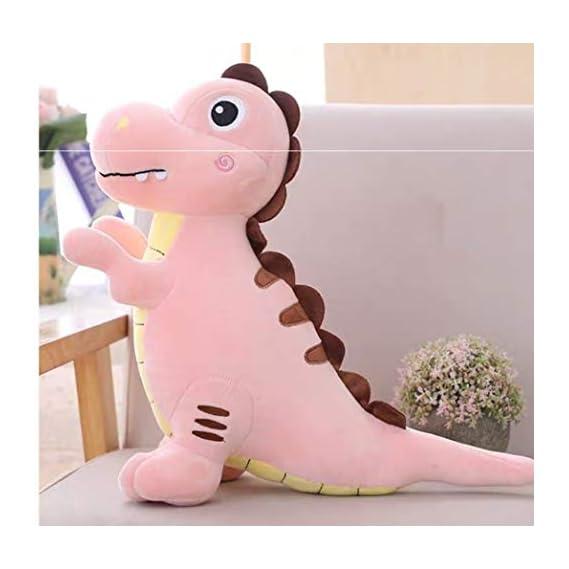 MONISHI Cute Dinosaur Soft Toy (25 cms [H]) /Plush Toy/ Cute Baby Dinosaur (Pink)