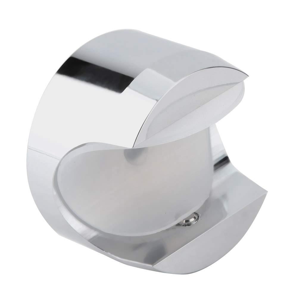 22-25 mm Term/ómetro de montaje en manillar para motocicleta impermeable Accesorio Negro Term/ómetro de manillar KIMISS