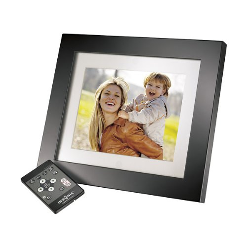 "Insignia 8"" Digital Picture Frame with Remoter & 2 Gb Storage (Black)"