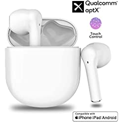 Bluetooth Headphones,Wireless Earbuds with【24Hrs Charging Case】IPX5 Waterproof, 3D Stereo Headsets in-Ear Ear Buds Built… Headphones and Earphones [tag]