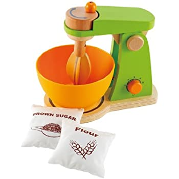 Hape Whip-It-Up Mixer Wooden Play Food Set and Accessories
