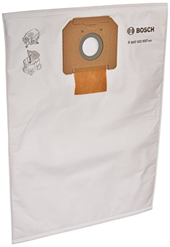 Bosch VB090F 5-Pack Fleece Filter Bag for use with VAC090 Dust Extractor, 9-Gallon ()