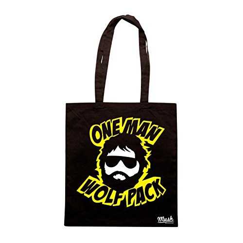 Borsa ONE MAN WOLFPACK - THE HANGOVER - Nera - FILM by Mush Dress Your Style