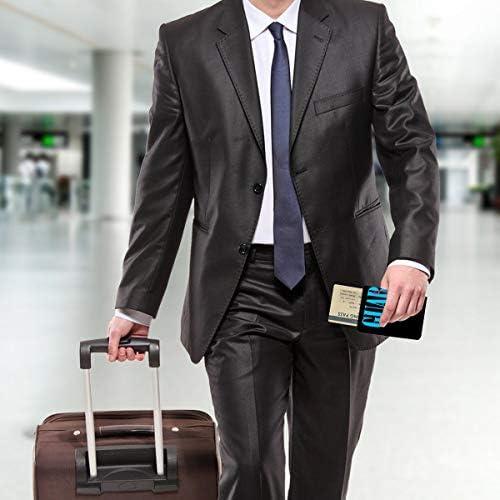 Nirvanaニルヴァーナ-3 パスポートケース メンズ 男女兼用 パスポートカバー パスポート用カバー パスポートバッグ 小型 携帯便利 シンプル ポーチ 5.5インチ高級PUレザー 家族 国内海外旅行用品