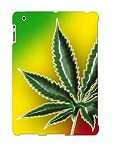 Crooningrose Anti-scratch And Shatterproof Cannabique Cannabique Phone Case For Ipad 2/3/4/ High Quality Tpu Case