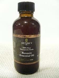 Nature's Oil 2oz Benzoin Essential Oil 100% Natural