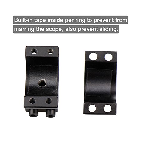 1-Dovetail-Scope-Rings-Modkin-High-Profile-Scope-Mount-for-11mm-Dovetail-Rails-2-Pieces-One-has-stop-pin