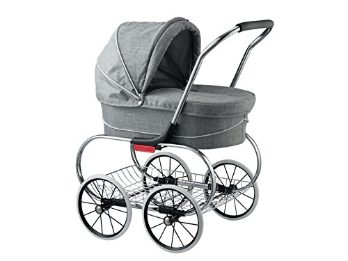 Classic Bassinet Doll Stroller by Valco Baby (Grey for sale  Delivered anywhere in USA