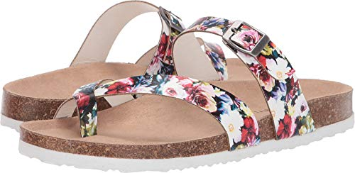 Madden Girl Women's Paamy Floral Multi 7 M US ()