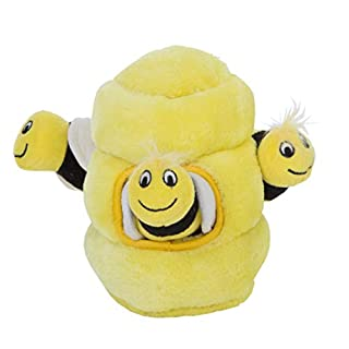 Outward Hound Hide A Bee Plush Dog Toy Puzzle