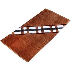 Star Wars Cotton Chewbacca Beach Towel (Brown)
