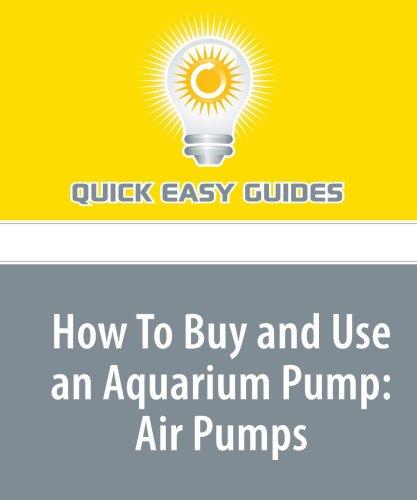 Download How To Buy and Use an Aquarium Pump: Air Pumps pdf epub
