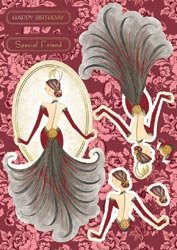 Kanban Crafts The Mitford Collection Die-Cut Punch-Out Sheet: Cleo Coral