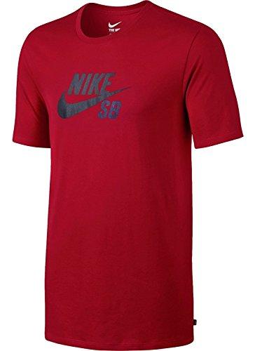 (Nike SB Dri-Fit Icon Reflective Men's T-Shirt - Size XL Red 749630 687)