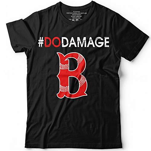 Damage Done Boston Won Baseball Game World Champions 2018 T-Shirt Hoodie/Long Sleeve/Tank Top/Sweatshirt ()