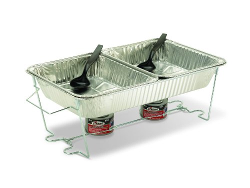 Sterno Pop-Up Chafer Set (Warming Dishes For Entertaining)