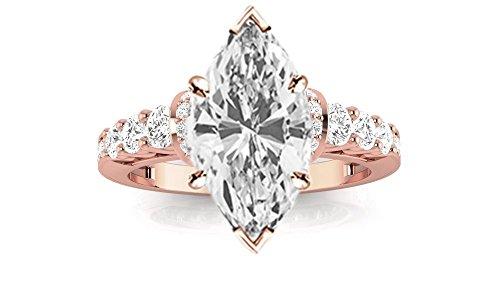 0.53 Ct Marquise Diamond - 3