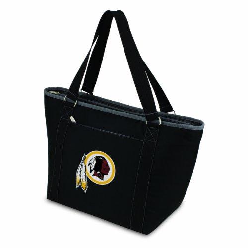 (NFL Washington Redskins Topanga Insulated Cooler Tote, Black)